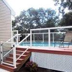 glass staircase railing