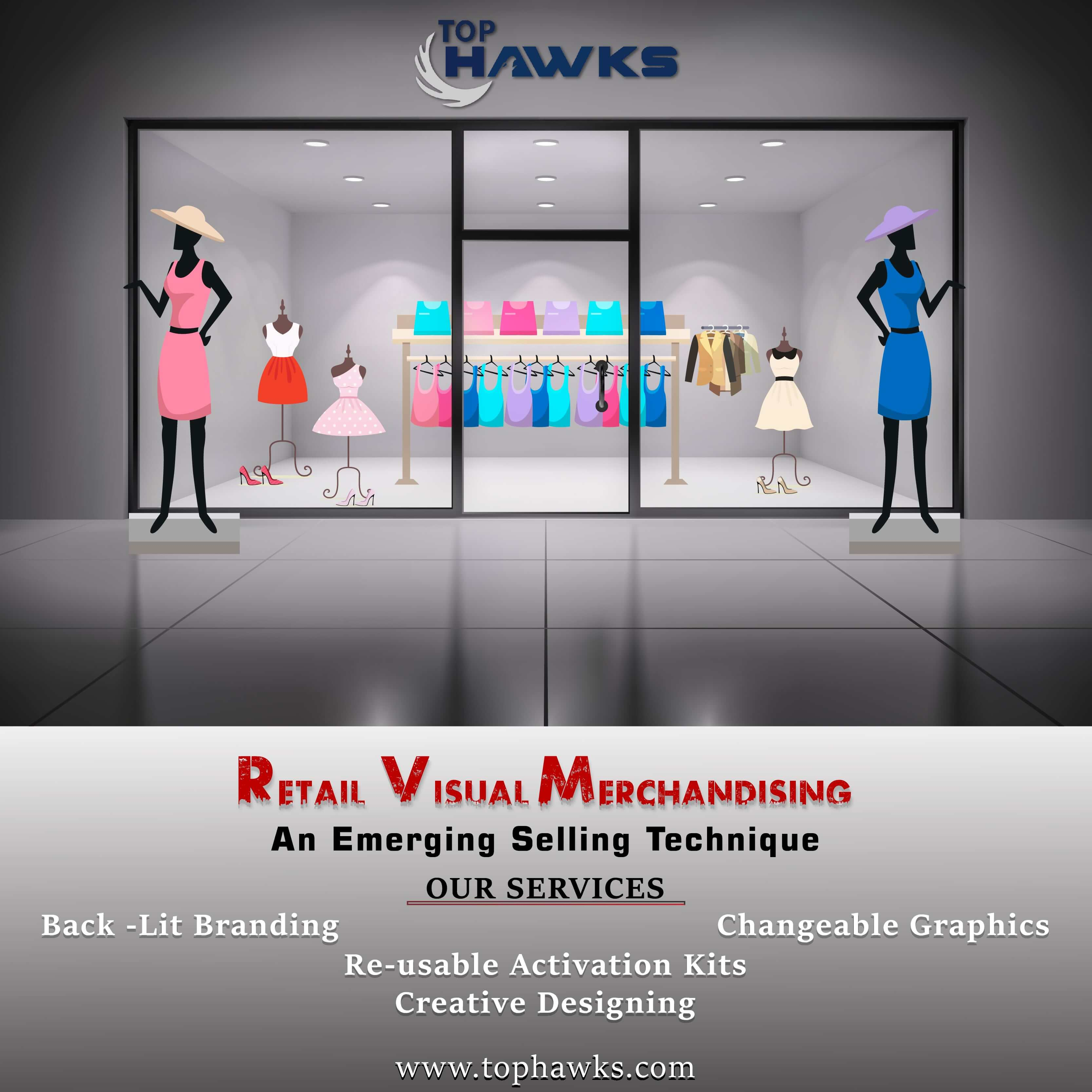 The importance of retail visual merchandising