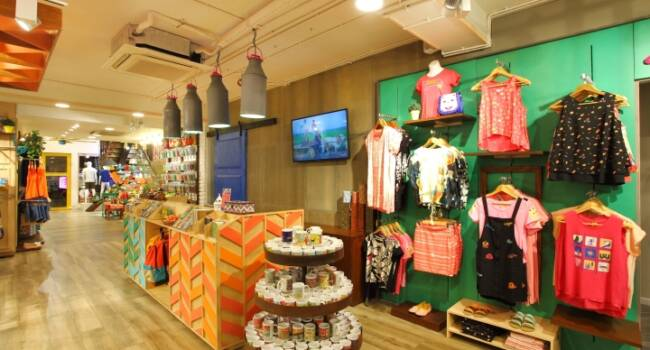 One of the stores re visualised & designed by tophawks