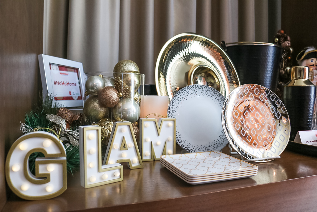 how to glam up your place for the holiday season