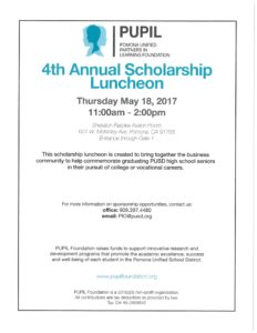 4th Annual Scholarship Luncheon