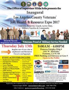 Los Angeles County Veterans' Job, Health & Resource Expo @ Pomona Fairplex Bldg.9 | Pomona | California | United States
