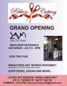Latino Art Museum's Grand Opening @ Latino Art Museum | Pomona | California | United States
