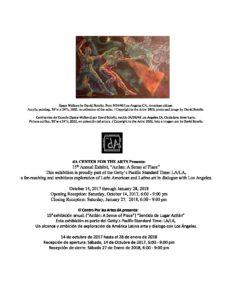 dA Center's 15th Annual Art Exhibit: Closing Reception @ dA Center for the Arts | Pomona | California | United States