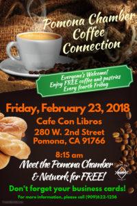 Pomona Chamber Coffee Connection @ Cafe Con Libros | Pomona | California | United States