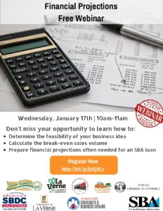 Financial Projections **FREE WEBINAR** @ Online Webinar | Tulsa | Oklahoma | United States