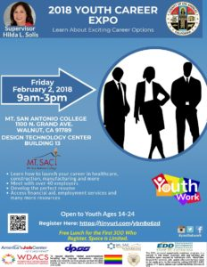 2018 Youth Career Expo @ Mt. San Antonio College | Walnut | California | United States