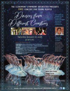 Dances from Different Countries @ Pomona College, Bridges Hall of Music | Claremont | California | United States