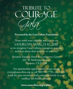 Tribute to Courage Gala @ Sheraton Fairplex Hotel and Conference Center | Pomona | California | United States