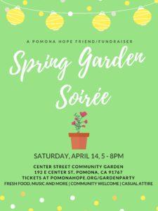 Spring Garden Soiree @ Center Street Community Garden | Pomona | California | United States