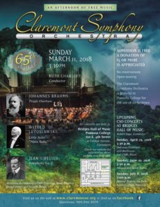 CSO Classical Music Concert at Bridges Hall of Music @ Bridges Hall of Music, Pomona College | Claremont | California | United States