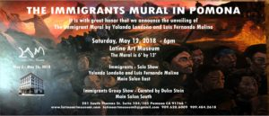 The Immigrants Mural in Pomona - Unveiling @ Latino Art Museum | Pomona | California | United States