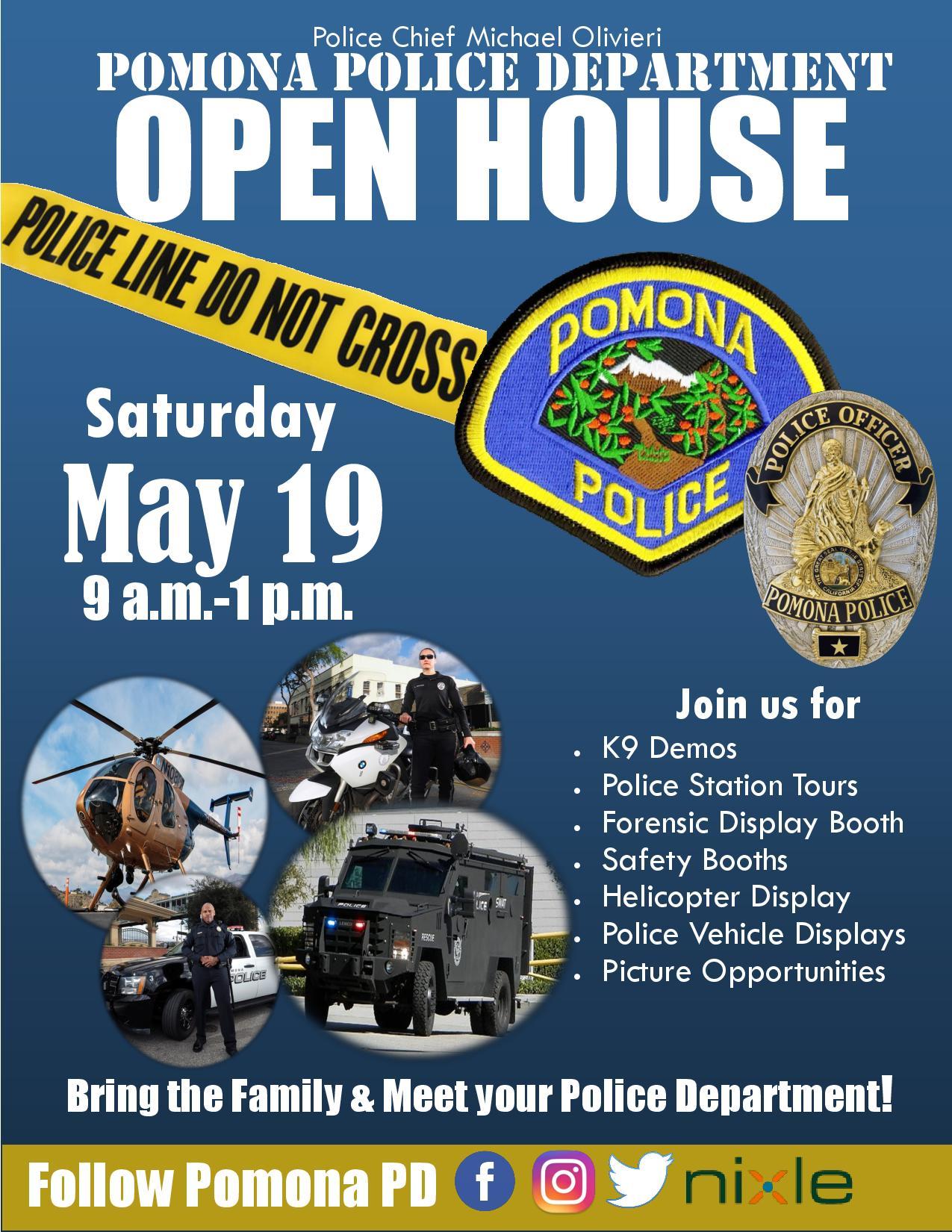 Pomona Police Dept  Open House | Pomona Chamber of Commerce