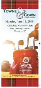 Towne & Gown Golf Classic @ Glendora Country Club | Glendora | California | United States