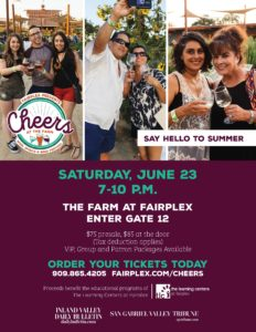 Cheers at The Farm @ Fairplex | Pomona | California | United States