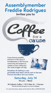 Coffee for a Cause @ Mi Cafecito Coffee | Pomona | California | United States