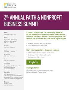 Free Faith & Non-Profit Business Summit @ Edison Energy Education Center  | Irwindale | California | United States