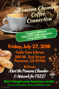 Free Coffee Connection @ Cafe Con Libros Press  | Pomona | California | United States