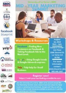 Mid-Year Marketing Summit @ University of La Verne | La Verne | California | United States