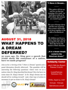 What Happens to a Dream Deferred? @ Solidarity Center | Pomona | California | United States
