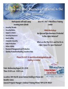Cyber Security Workshop @ Mt. Sac | Walnut | California | United States