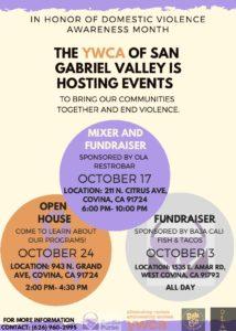 YWCA of San Gabriel Valley Fundraiser @ Baja Cali Fish & Tacos   West Covina   California   United States