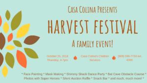 Casa Colina's Harvest Festival @ Casa Colina's Children Services  | Pomona | California | United States