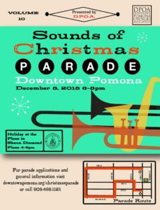 Sounds of Christmas Parade in Downtown Pomona @ Downtown Pomona