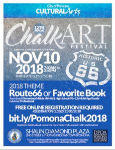 12th Annual Chalk Art Festival @ Shaun Diamond Plaza | Pomona | California | United States
