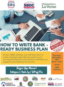 FREE webinar - How to Write a Bank Ready Business Plan @ Online Webinar