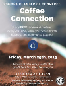March Coffee Connection @ Inter Valley Health Plan