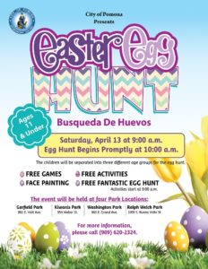 Easter Egg Hunt @ Garfield Park