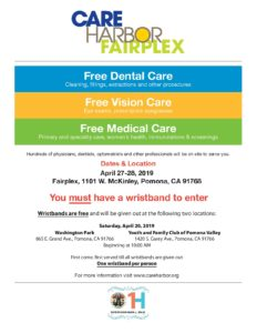 Care Harbor Fairplex @ Fairplex