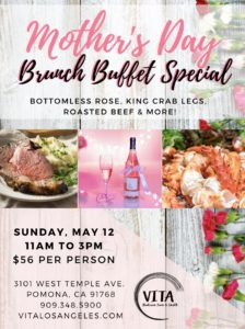 Mother's Day Event @ Vita Italian