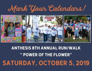 "Anthesis 8th Annual Run/Walk ""Power of the Flower"""
