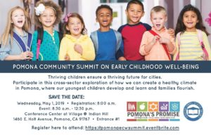 Pomona Community Summit On Early Childhood Well-Being @ Conference Center at the Village
