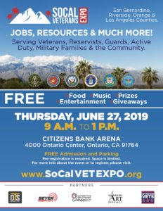 Socal Veterans Expo @ Citizens Bank Arena