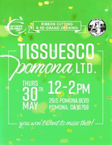 Tissueco Pomona Ribbon Cutting & Re-Grand Opening