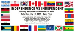 Independence VS Independent Opening Reception and Pomona Art Walk