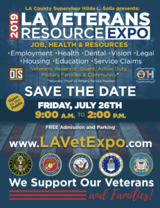 LA Veterans Resource Expo @ Fairplex Building 4