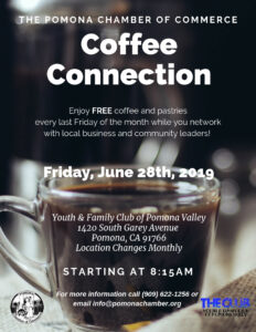 Coffee Connection @ Youth & Family Club of Pomona Valley