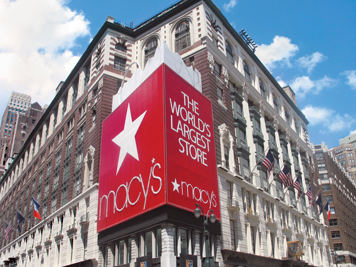 Macy's Herald Square store in New York City.