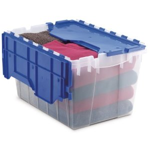 Dorm Room Plastic Storage Bin KeepBox