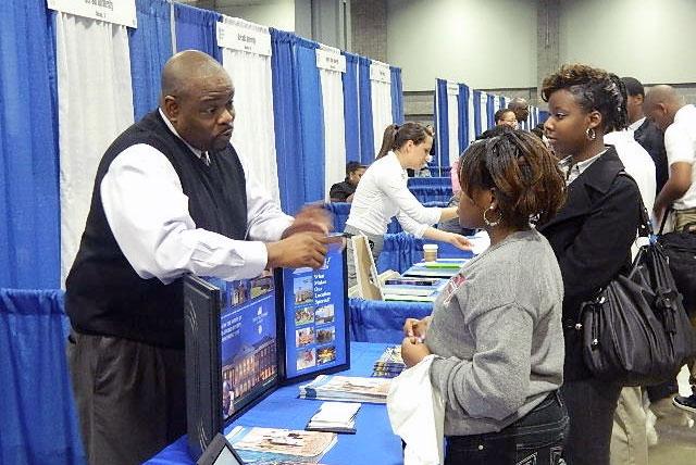 Photo courtesy of NewOne, D.C. College Fair.