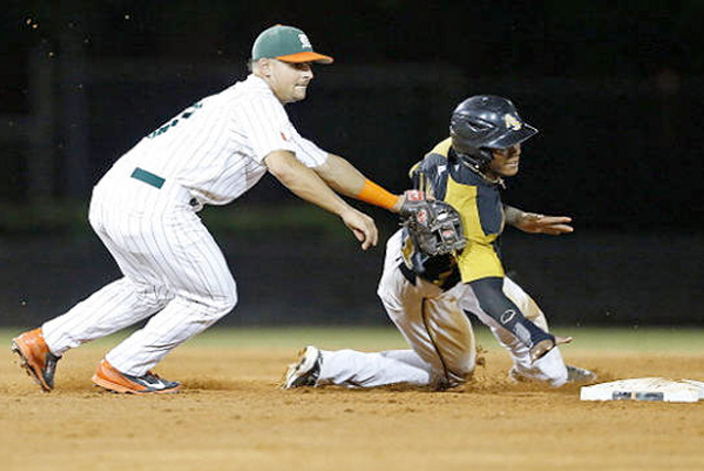 Alabama State defeated No. 4 Miami 6-5 on the road Saturday to improve to 34-18 on the season.