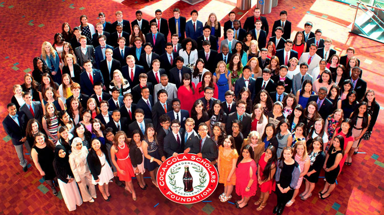 Presenting the 26th class of Coca Cola Scholars.