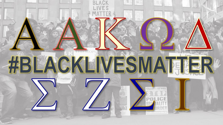 Black Greeks and the #BlackLivesMatter Movement