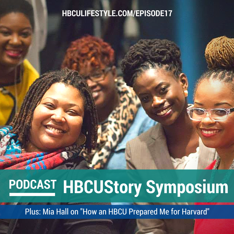 Dr. Crystal deGregory poses with speakers and members of the audience at the 2014HBCUStory Symposium at the Association of Public and Land-grant Universities in Washington, DC.