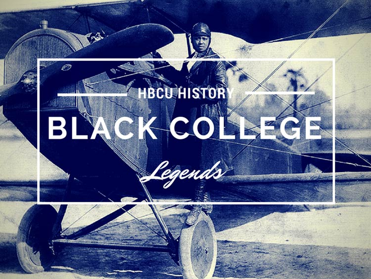 """Langston University alumna Elizabeth """"Bessie"""" Coleman became the first African-American woman in America to stage a public flight; and hold an international pilot license."""
