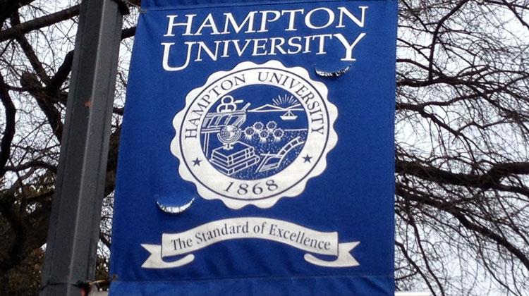 Hampton University Campus Banner